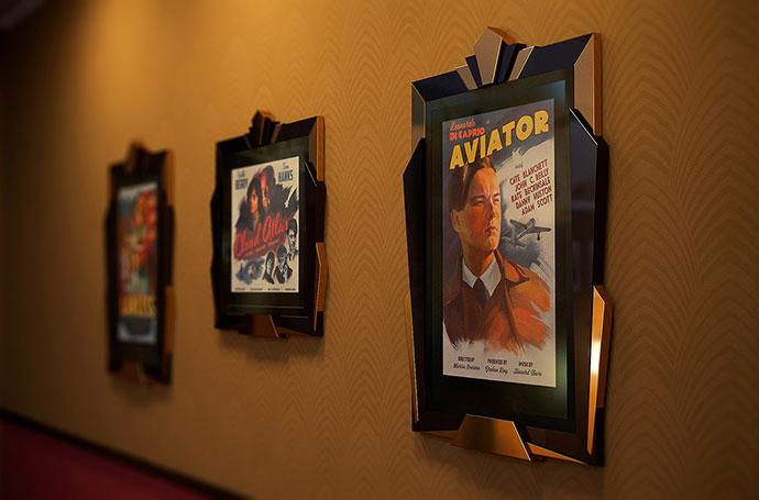 Retro Movie Posters Of Modern Movies