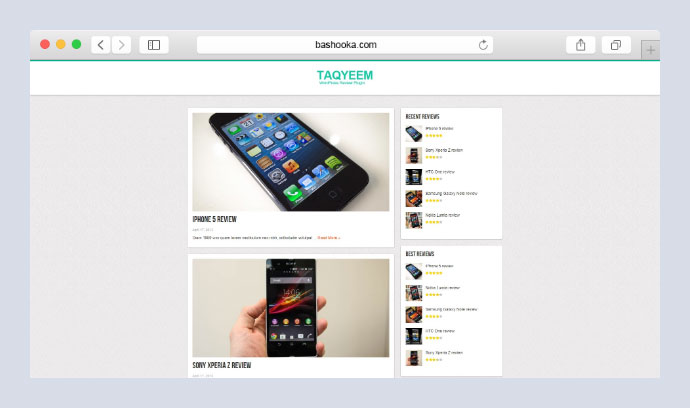 Taqyeem - WordPress Review Plugin