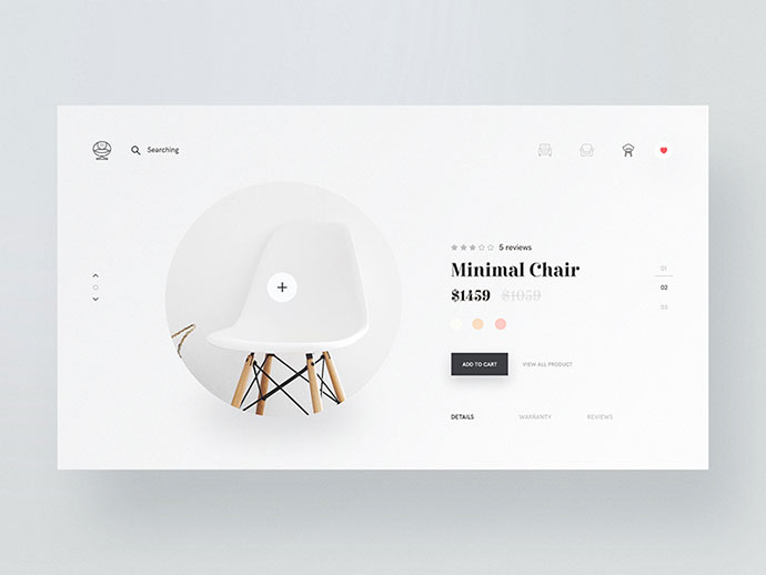 Minimal Chair Design