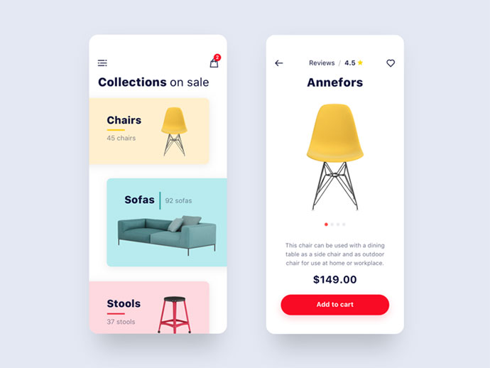 Furniture Store App