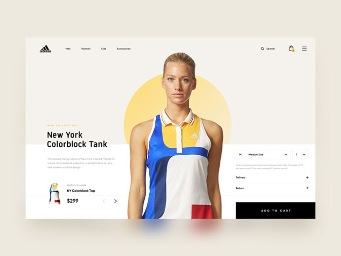 Adidas - Online Store