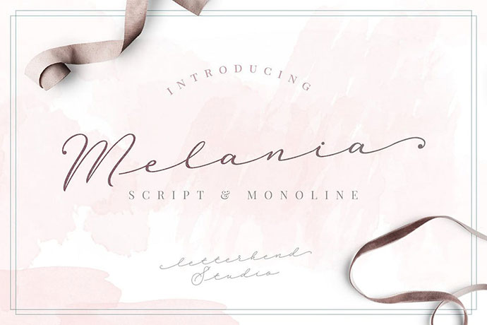 Melania Script