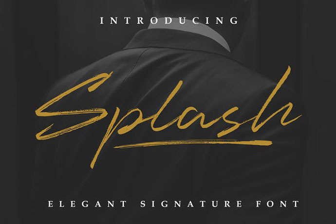 Splash - Professional Signature