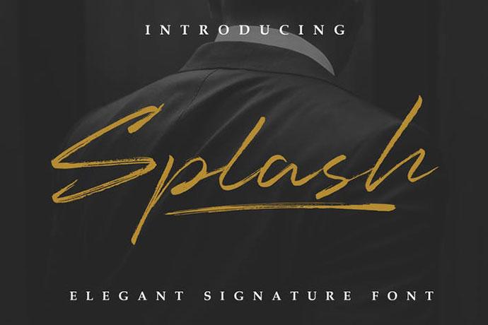 Splash - Professional Signature
