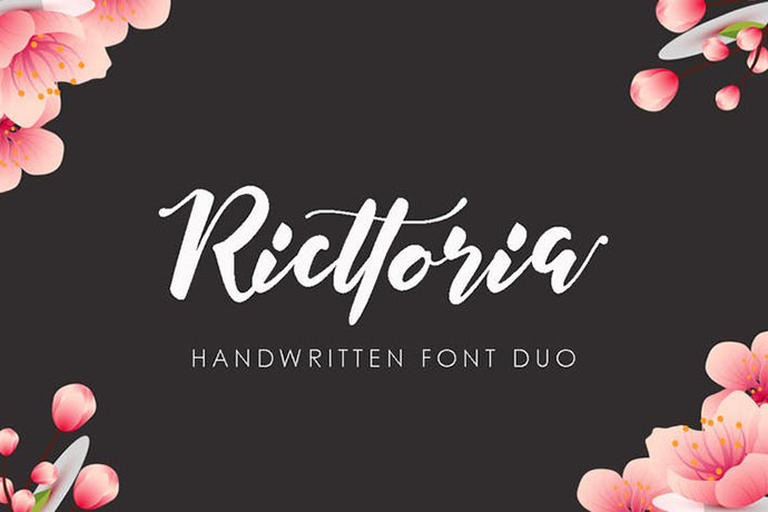 Ricttoria Font Duo