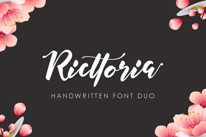 Ricttoria Font Duo