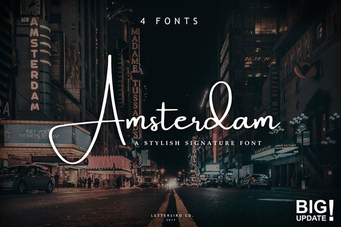 Amsterdam Font Collection