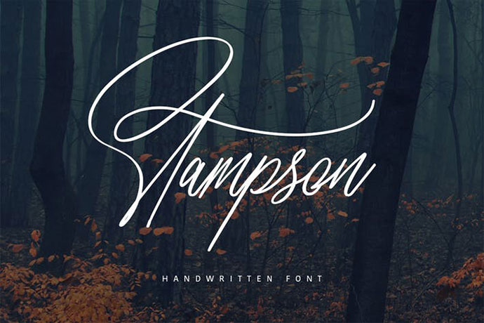 Stampson Typeface