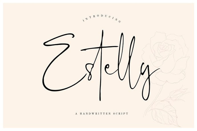 Estelly Stylish Signature