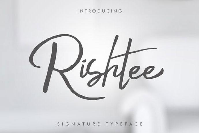 Rishtee Signature