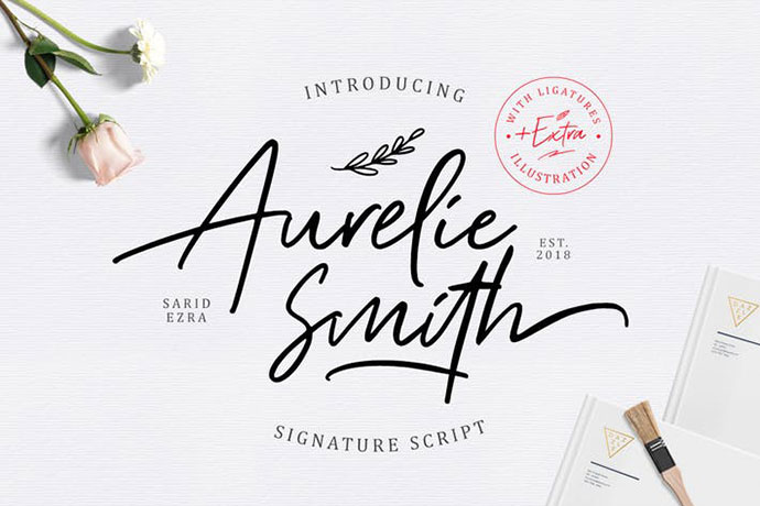Aurelie Smith - Signature (+EXTRA)