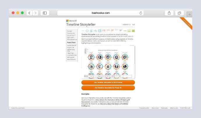 Timeline Storyteller