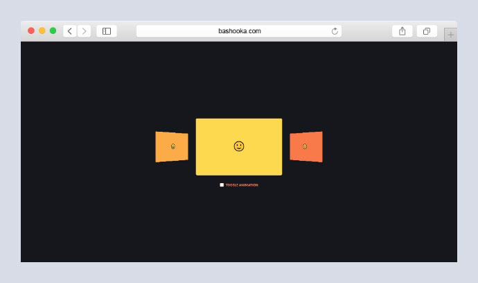 CSS 3D transform Colorful Animated Carousel