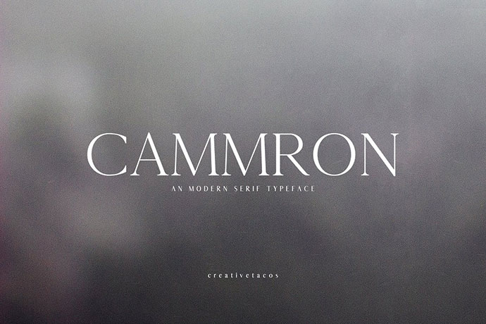 Cammron Serif Font Family