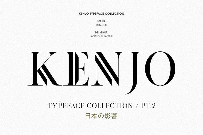 KENJO FONTS | PT. II