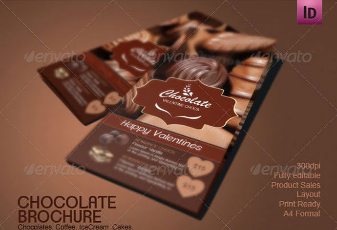 Chocolate Shop Brochure