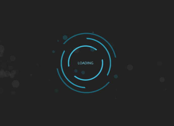 Rotate / Pulse Loading Animation