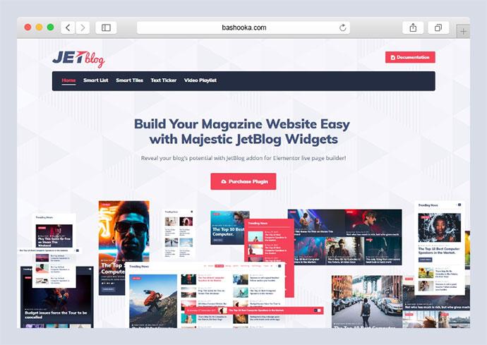 JetBlog - Blogging Package for Elementor Page Builder