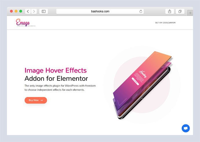 Emage - Image Hover Effects for Elementor