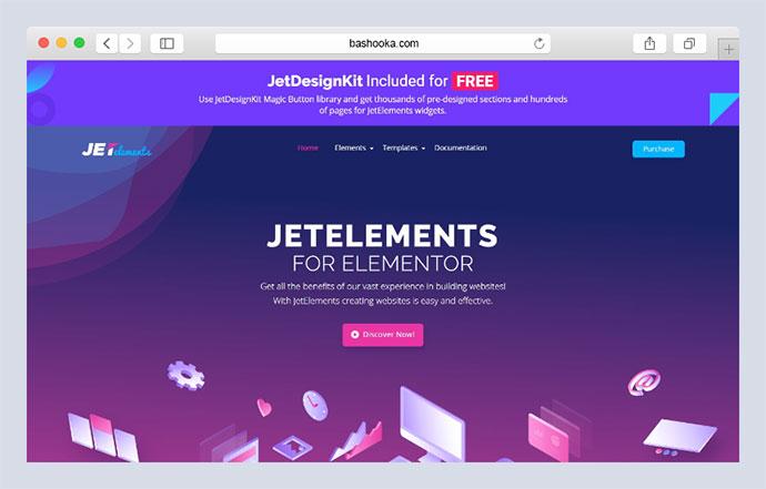 JetElements - Widgets Addon for Elementor Page Builder