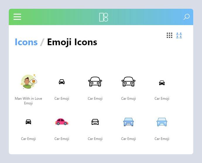 Icons8 Emoji