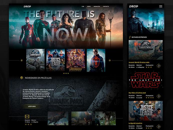 Drop Films & TV show platform