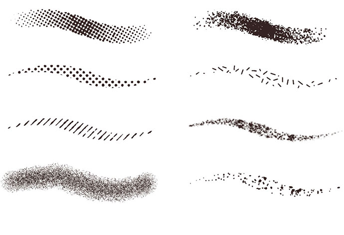 Over 100 Free Brushes, Textures, Swatches, Vectors & Templates