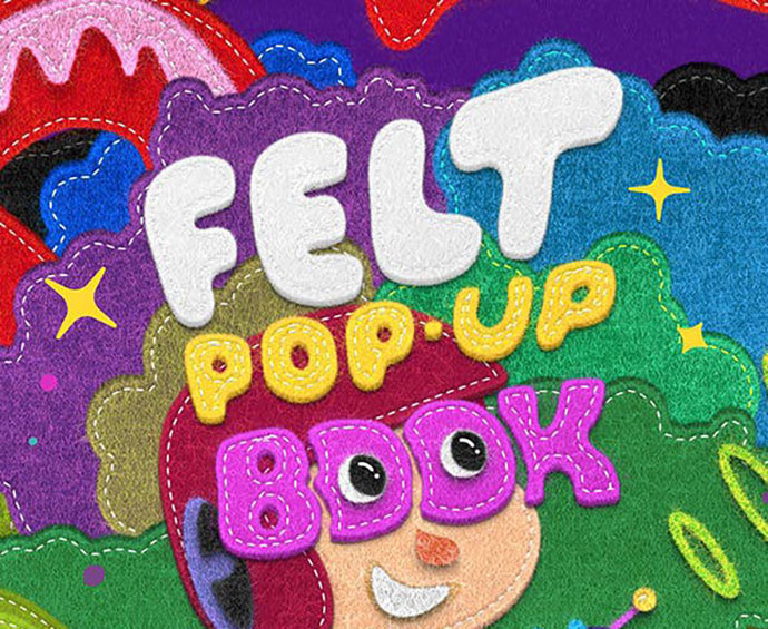 Felt POP-UP Book Maker