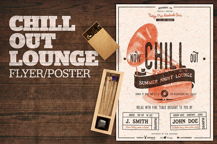 Chill Out Lounge Flyer / Poster