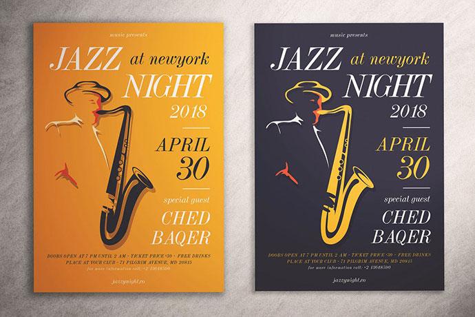 Jazz Night Flyer