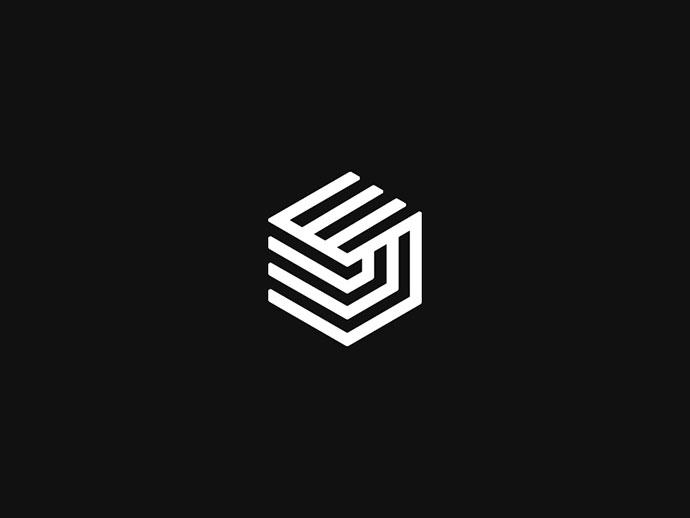 25 excellent isometric logo design examples  u2013 bashooka