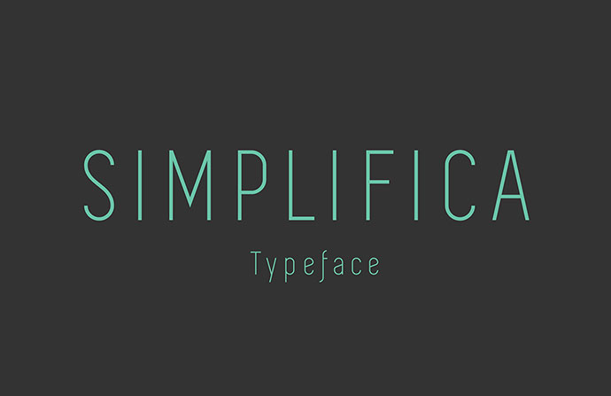 Simplifica Typeface | Free