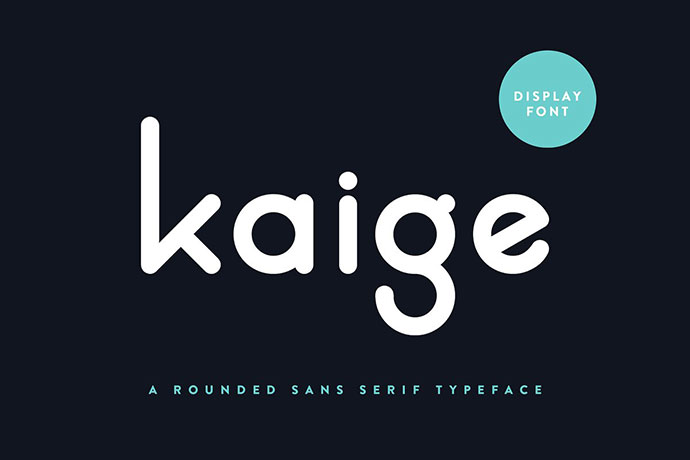 KAIGE | Display Font