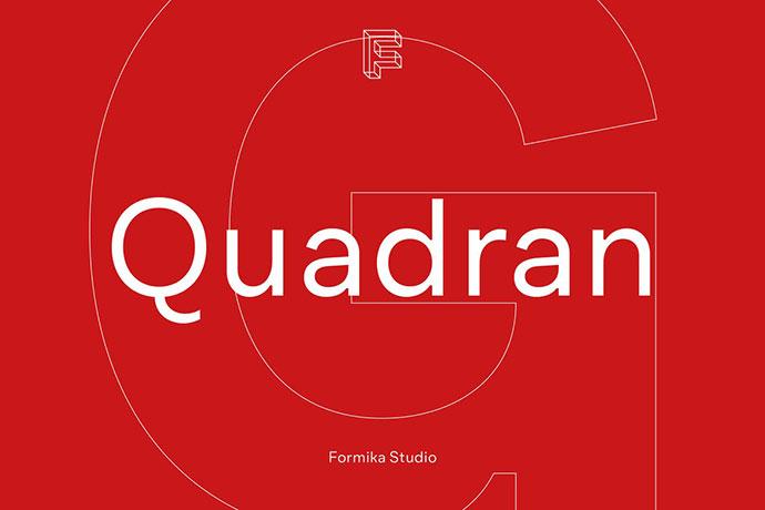Quadran Font