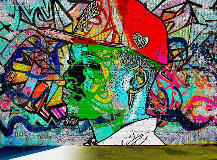 Create a Graffiti Effect