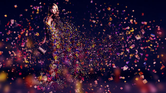 3d Pixel Dispersion Effect Image+tutorial