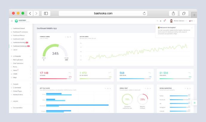 25 Awesome React Admin Dashboard Templates – Bashooka
