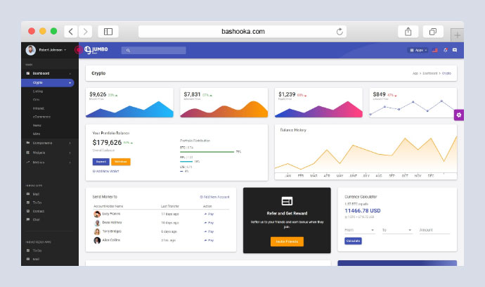 25 Awesome React Admin Dashboard Templates – Bashooka