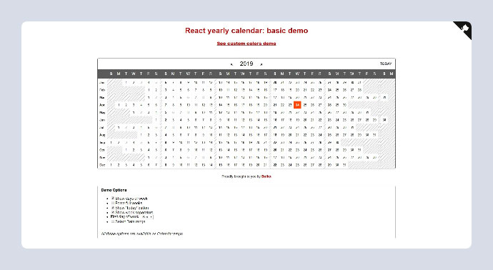 15 Best React Date Picker & Calendar Components – Bashooka