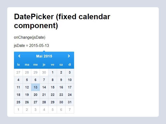 15 Best React Date Picker & Calendar Components – Bashooka