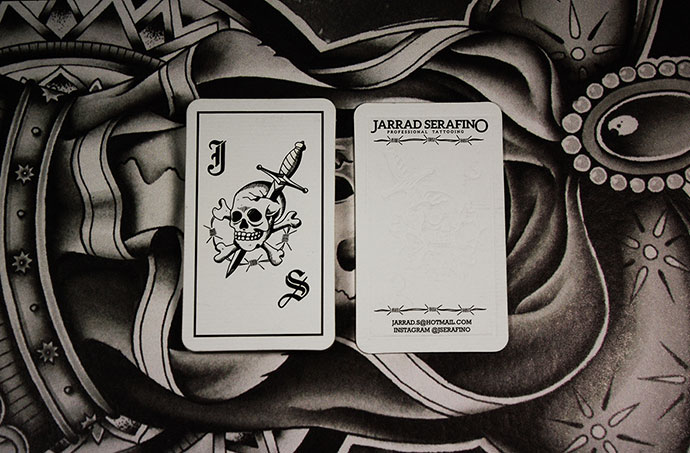 Jarrad Serafino Business Cards