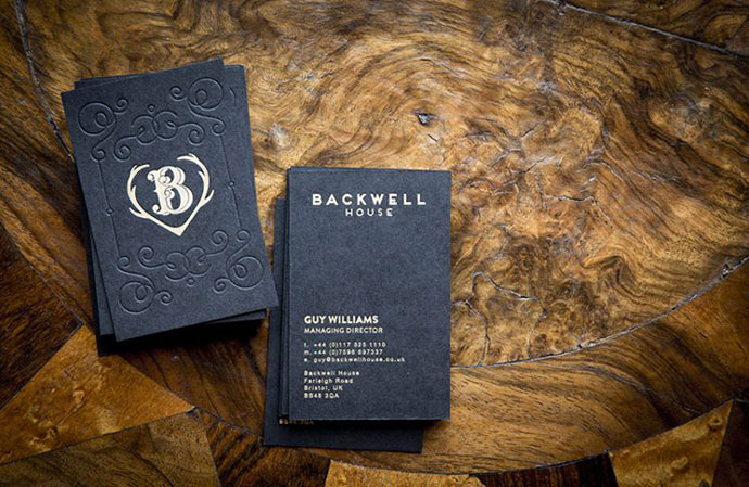 Backwell House Business Card