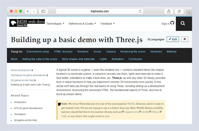25 Beginner Friendly Three js Tutorials & Examples – Bashooka