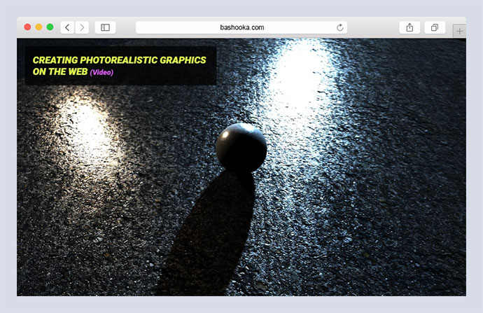 Creating Photorealistic 3D Graphics on the Web