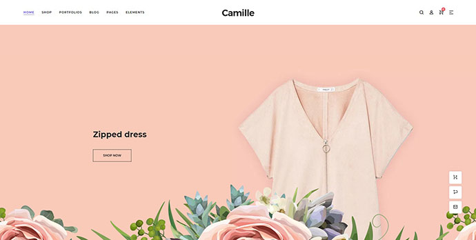 Camille WordPress Theme