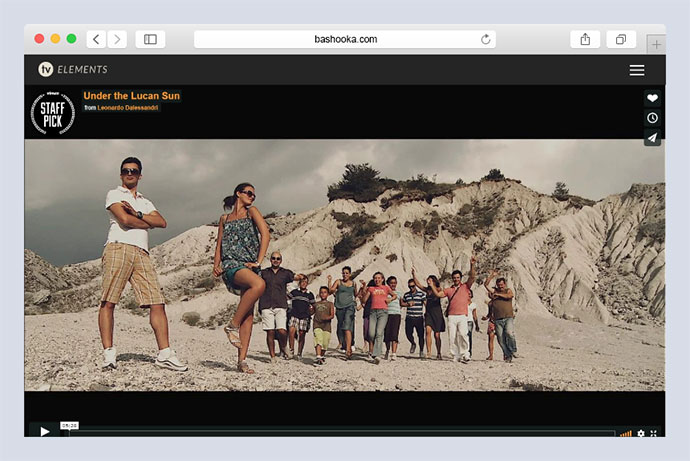 TV Elements Video WordPress Theme for Videographers and Visual Artists