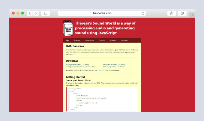 Theresa's Sound World