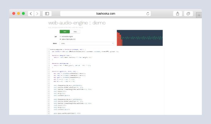 Web Audio Engine