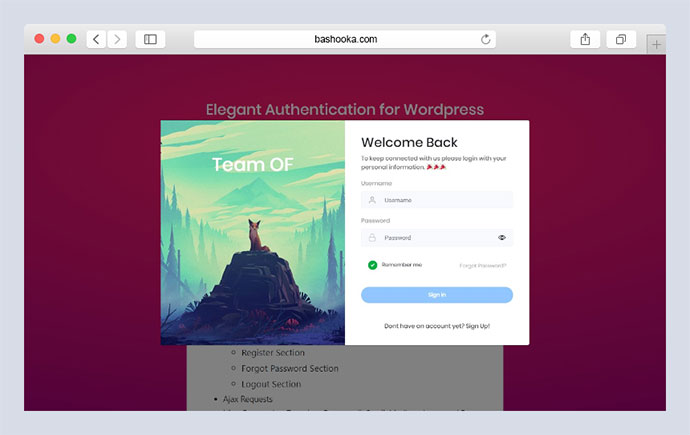 Elegant Authentication for WordPress