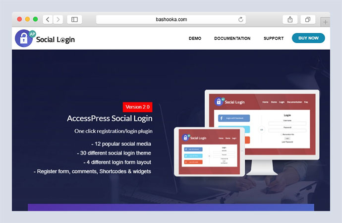 Social Login WordPress Plugin - AccessPress Social Login